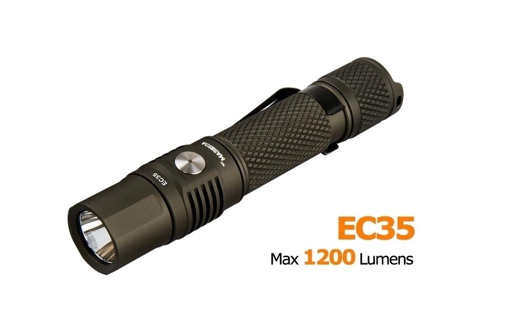 EC35 CREE XP-L High Density 1200 Lumens