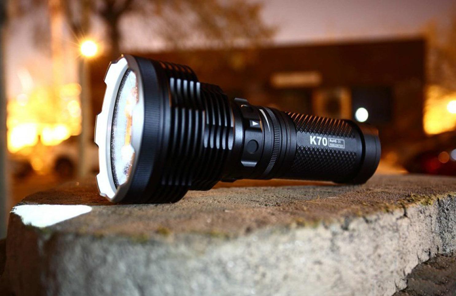 High Intensity LED Flashlight