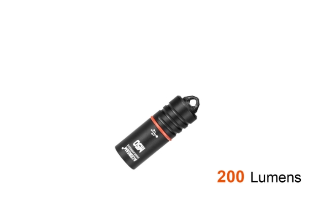 Rechargeable Keychain Flashlight